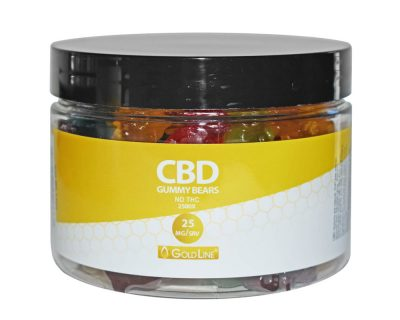 GoldLine CBD Gummies