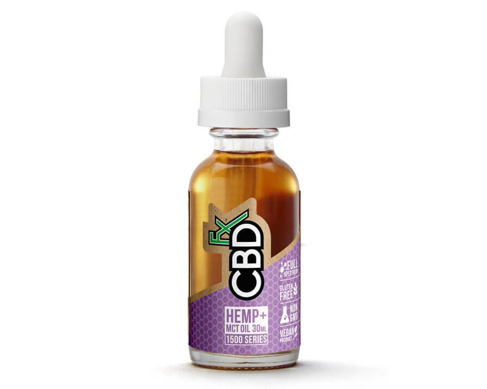 CBD Hemp Tincture Oil 1500mg by CBDfx