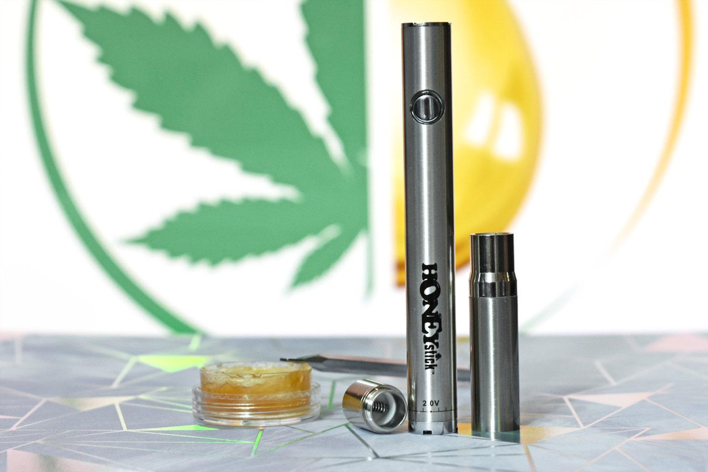 HoneyStick Twist Vape Pen Battery Review - for CBD Oil and Wax