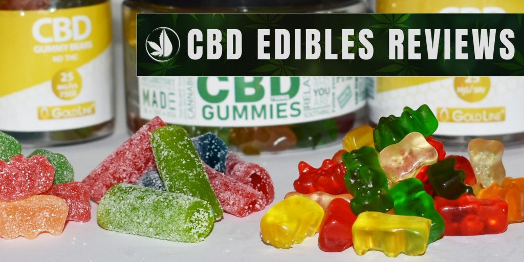 Reviews of CBD Edibles, Gummy Bears, Sour Gummies, Honey and more.