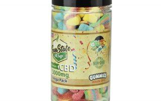 CBD sour gummies by sunstate-hemp