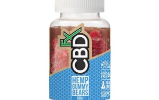 CBD hemp gummy bears by CBDFx