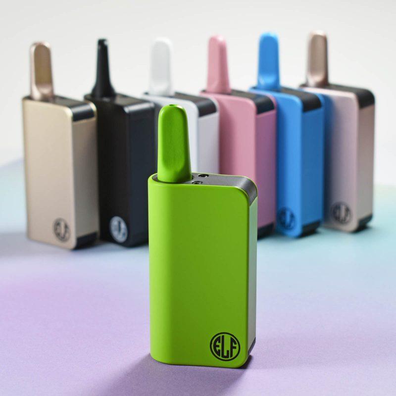 Honeystick Elf auto-draw vaporizer in Green finish