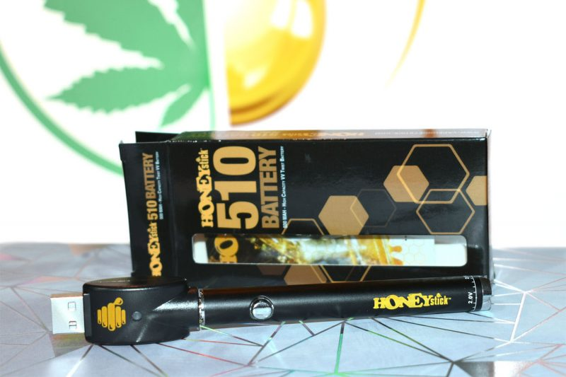 HoneyStick Twist 510 Pen Vaporizer Battery with USB Charger