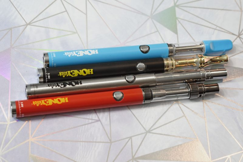 Pen Style Vape for 510 Cartrides w/ Push-Button Action