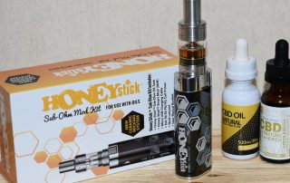 CBD Vape Pen Review - OG Honeystick Oil Vaporizer