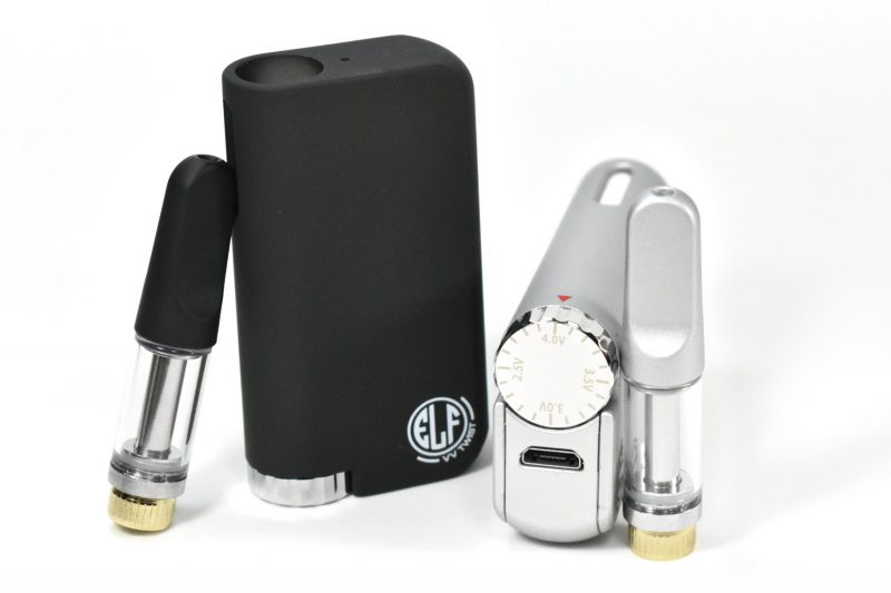 Elf Twist is Buttonless and Variable Voltage Vape Pen