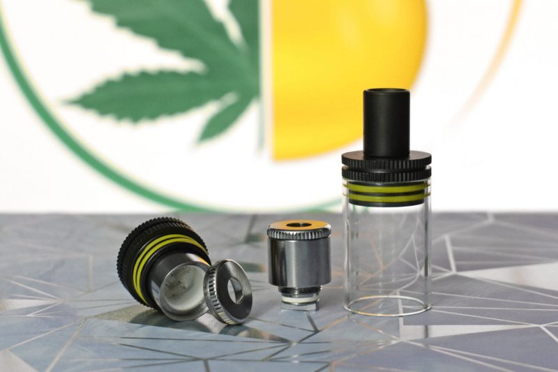 Highbrid quartz atomizer best for shatter or waxy concentrates