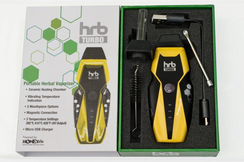 HRB Turbo Kit for dry herb vaping