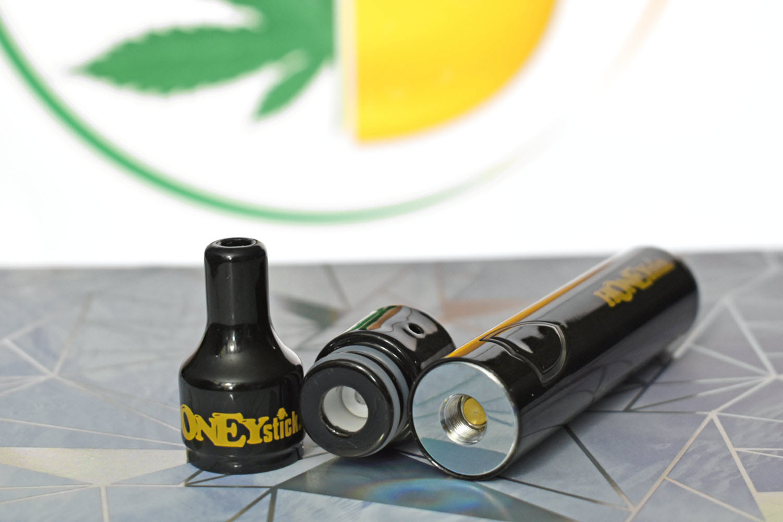 Stinger vape pen for wax with ceramic dab tank, 1100mAh dab pen battery
