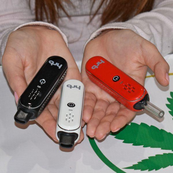 HRB vape pen in 3 color options
