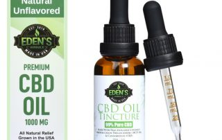 Natural CBD Oil Tincture by Edens Herbal