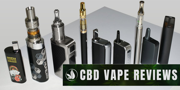 Reviews of Best CBD Vape Pens and Vaporizers for Essential Oils, Wax and Dry Herbs